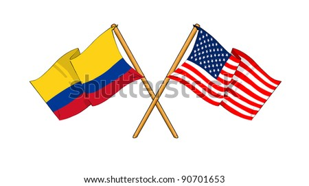 Alliance and friendship between Colombia and USA