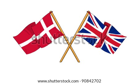 Alliance and friendship between Denmark and United Kingdom