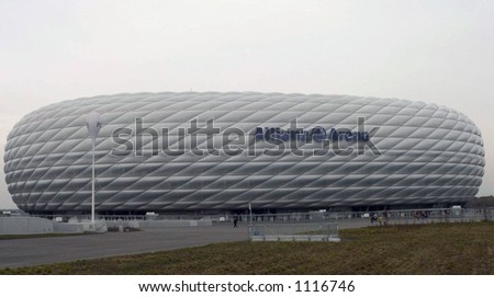 Allianz Arena where the world cup will begin