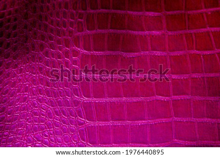 Alligator Skin. Crocodile Skin. Real Alligator Skin. Fake Alligator Skin. Pink Crocodile or Alligator.