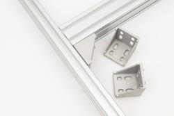 Alluminum Extruded construction profiles for cnc machines