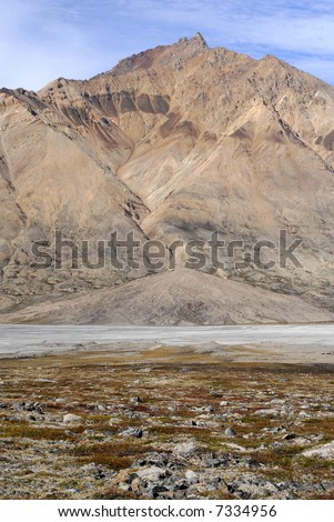 Alluvial Fan - North-East Greenland