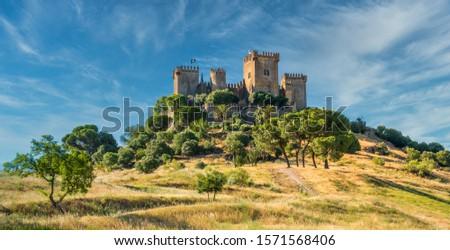 Almodovar del Rio Castle, in the province of Cordoba, Andalusia, Spain. Stock fotó ©