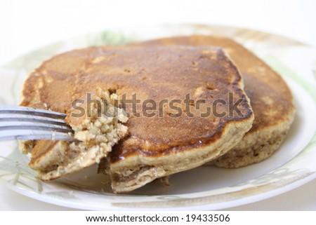 Almond Wheat Breakfast Pancakes