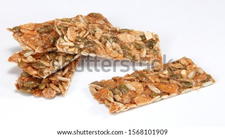 Almonds & Seeds Florentines-with loads of almond flakes, sunflower seed and pumpkin seed