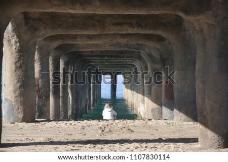 Alone under a pier #1107830114