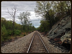 Along the New York, Susquehanna and Western Railroad line