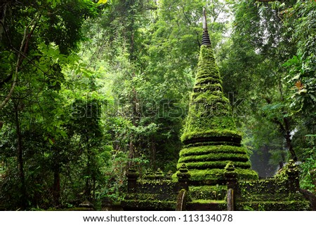 Alongkorn Chedi Pagoda in Chanthaburi, Thailand
