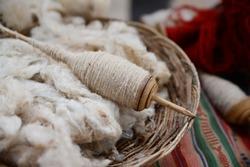Alpaca Wool Spool, Peru