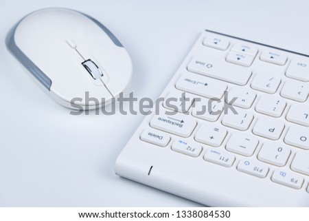 Alphabet keyboard of personal computer #1338084530
