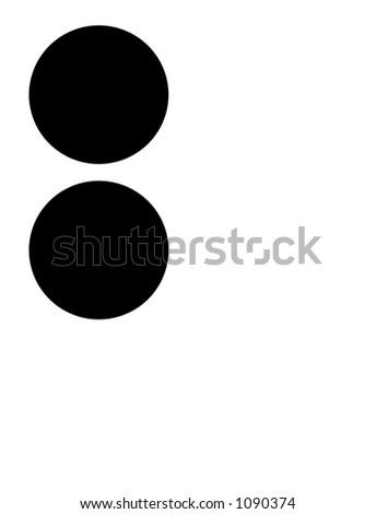 alphabet letter b in braille