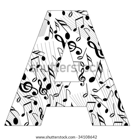 gift ideas for identifying musical alphabet only should alphabet d