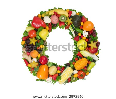alphabet of health o stock photo 2892860 shutterstock