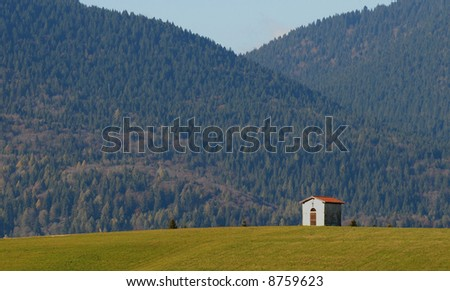 Alpine Chapel - stock photo