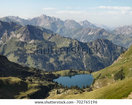 Alpine Lake #702765196