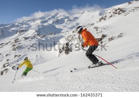 Alpine skiing - downhill skiing