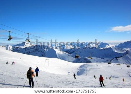 Alps Foto stock ©