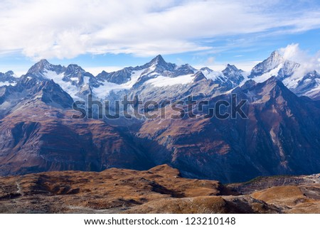 Alps in Zermatt, Switzerland #123210148