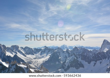 Alps Mountain Range #593662436