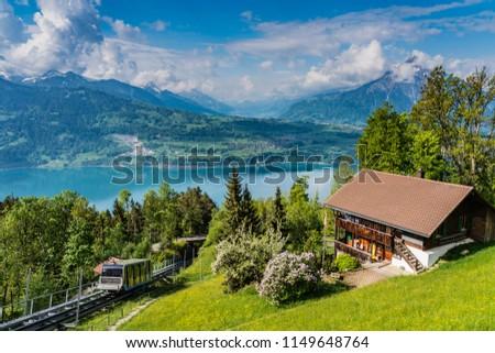 Alps panorama from Niederhorn