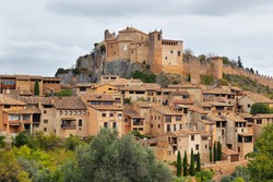 Alquezar, a beautiful medieval village in Huesca province, Aragon, Spain
