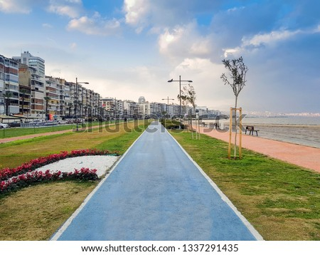 Alsancak is a centrally situated large quarter in Izmir, Turkey, within the boundaries of the metropolitan district of Konak, the historic center of the city. Kordon is the seaside famous with parks. #1337291435