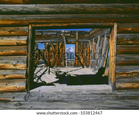 Alta Ghost Town and Mountains, San Juan National Forest, Colorado