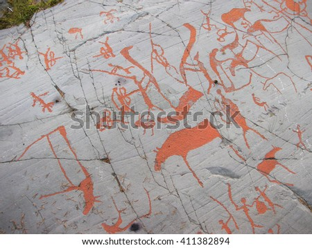 Rock carvings at alta world list