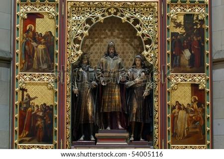 Altar in Zagreb cathedral