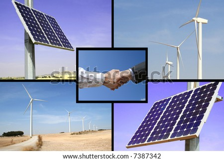Alternative energies, the solution to global warming