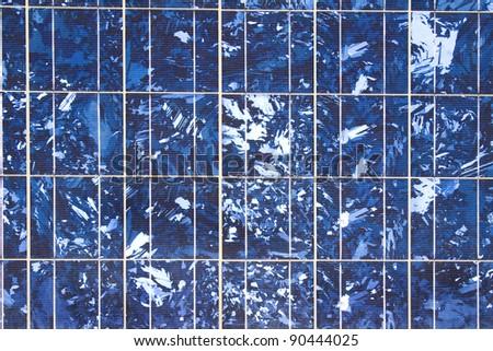Alternative energy sources. Solar panels.