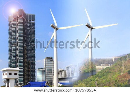 Alternative energy sources  windmills