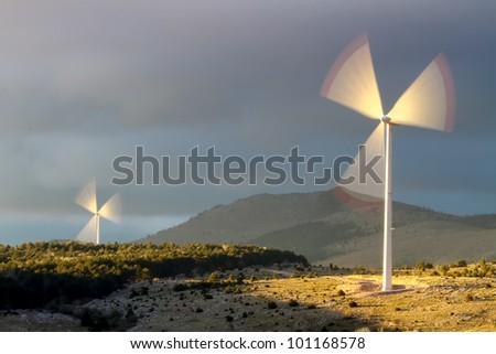 Alternative energy - wind turbine