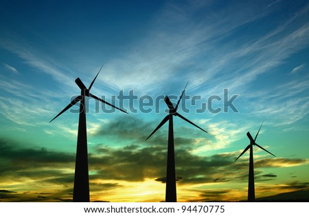 Alternative energy - windturbines
