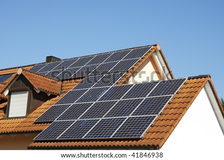 Alternative energy with solar panels