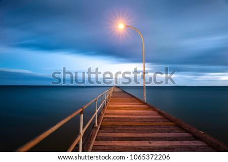 Altona Pier sunset