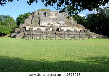 Altun Ha, ruins of an ancient Maya city in Belize