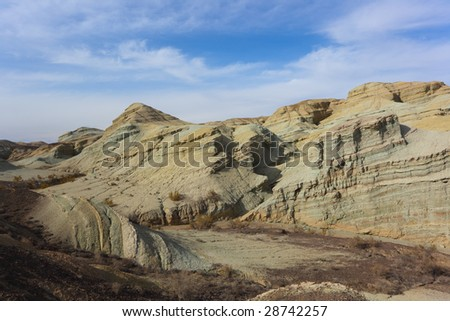 Altyn emel state national natural park - stock photo