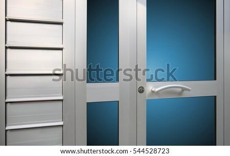 Aluminium Door #544528723