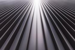 Aluminium fin facade design, Building facade