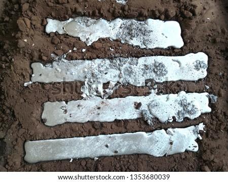 Aluminium sand casting. Metal casting. #1353680039