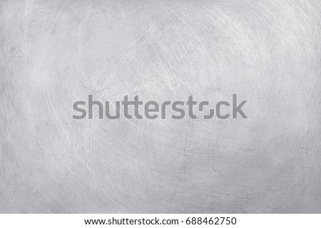 aluminium texture background, scratches on stainless steel.