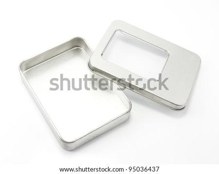 Aluminum box.