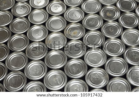 Aluminum Cans in factory warehouse
