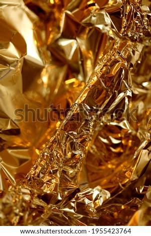 Aluminum folie colorful abstract close up background tripping modern high quality big size print Stock fotó ©