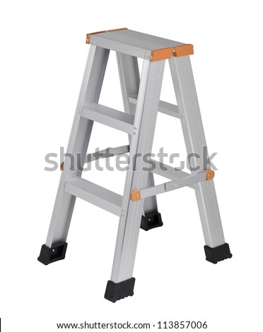 Aluminum ladder useful for your housework isolates