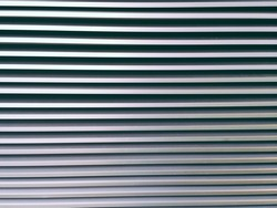 Aluminum lath for background.