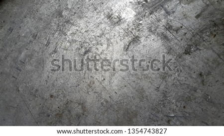 Aluminum. Scratched aluminum. Dirty metal surface. Vintage background
