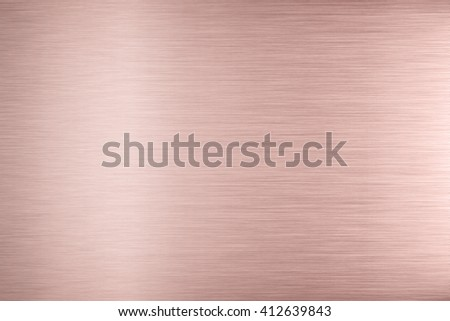 Aluminum texture background with rose gold #412639843