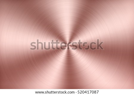 Aluminum texture background with rose gold #520417087